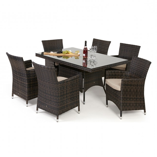 Wicker And Glass Dining Tables In Favorite 2017 Trade Assurance Sgs Discount Antique Resin Wicker Glass Top (View 17 of 20)