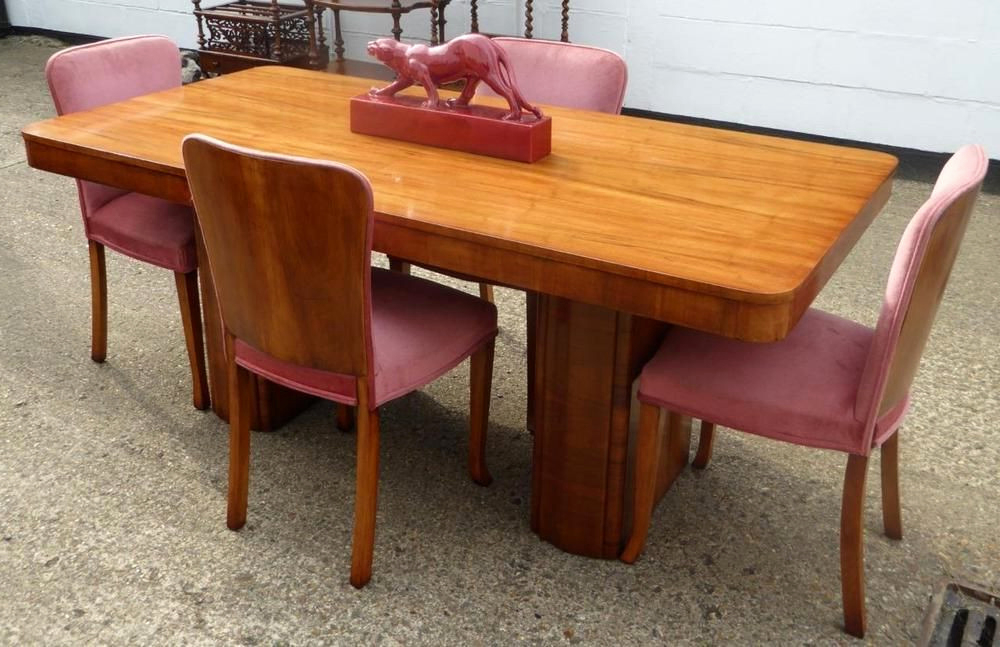 Widely Used 19 Awesome Dining Table And Chairs Ebay (View 20 of 20)