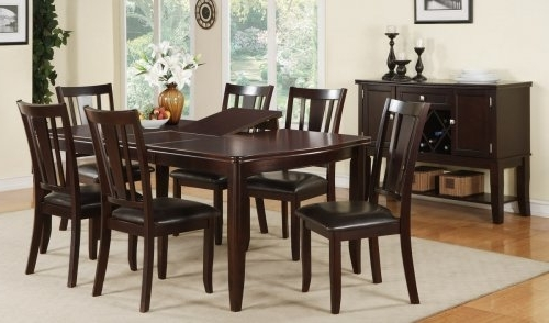 Widely Used 6 Seater Round Dining Tables Throughout 6 Chair Dining Table – Theradmommy (View 9 of 20)