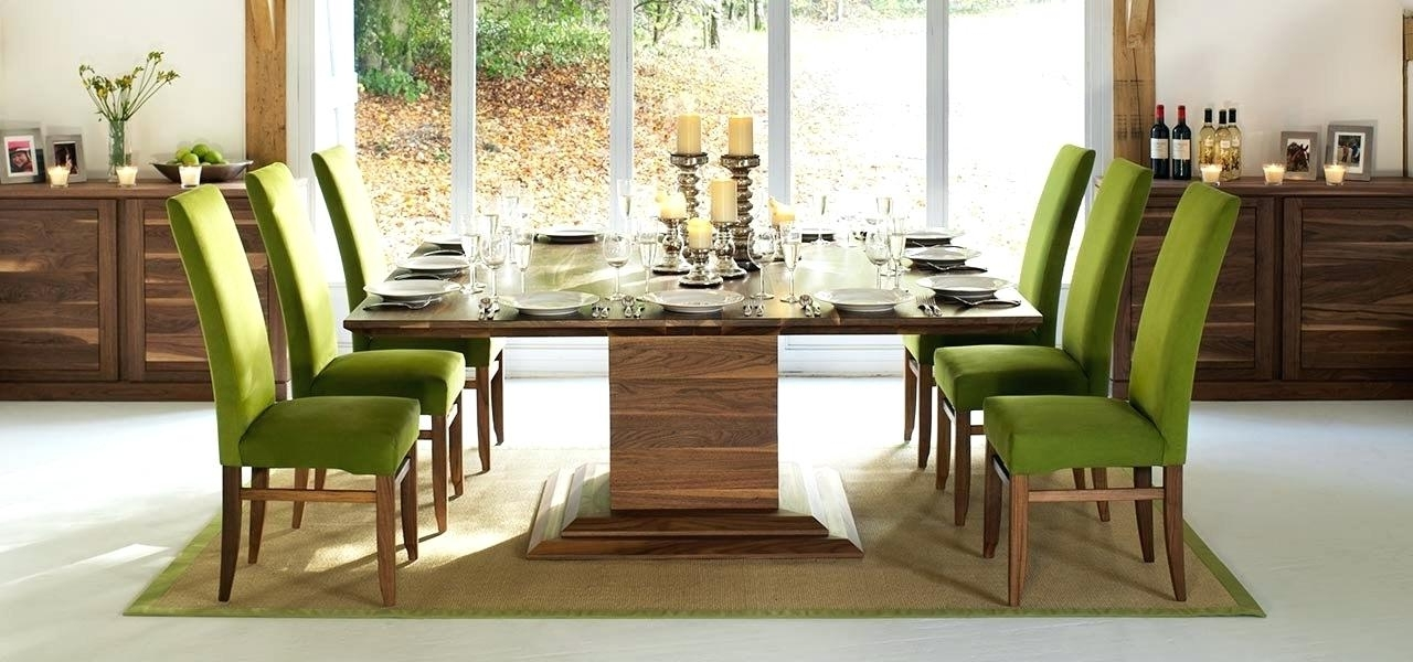 Widely Used 8 Seater Dining Tables Inside 8 Seater Dining Table Square Dining Tables In Solid Oak Walnut (View 20 of 20)