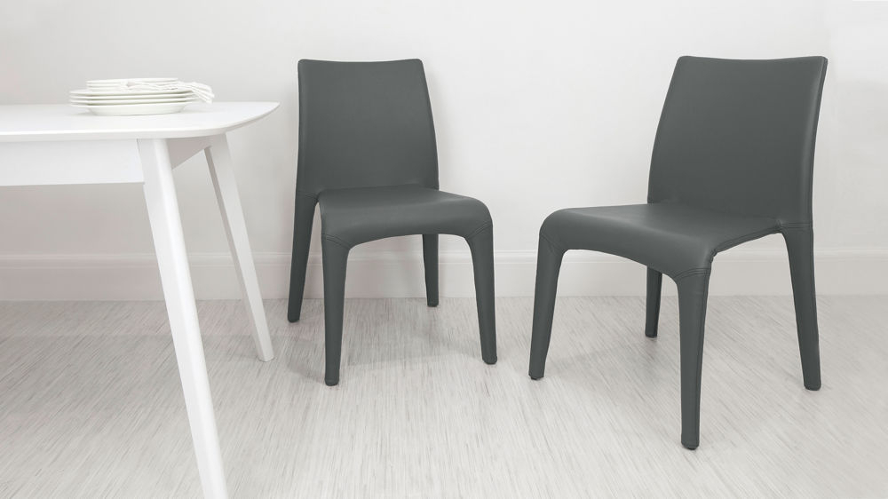 Widely Used Argenta Coloured Faux Leather Chair (View 3 of 20)