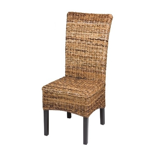 Widely Used Banana Leaf Chairs With Cushion For Paolo Banana Leaf Dining Chair (View 19 of 20)
