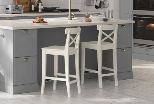 Widely Used Bar Stools & Counter Height Chairs – Ikea With Regard To Valencia 4 Piece Counter Sets With Bench & Counterstool (View 13 of 20)