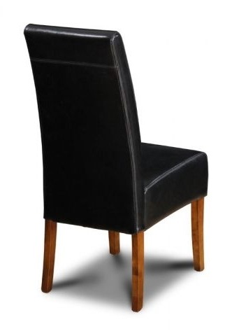 Widely Used Brown Leather Dining Chairs Inside Brown Leather Dining Chair From The Uk (View 16 of 20)