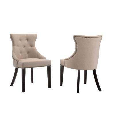 Widely Used Carolina Cottage – Upholstered – Dining Chairs – Kitchen & Dining Within Jaxon Grey Upholstered Side Chairs (View 11 of 20)