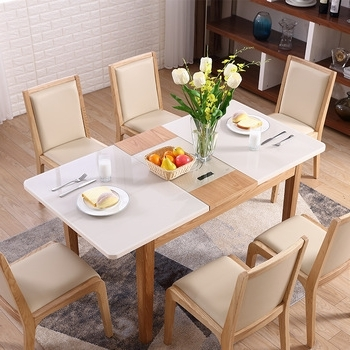 Widely Used Cheap High Gloss Extendable Dining Table Nordic Furniture Modern With Cheap Extendable Dining Tables (View 19 of 20)