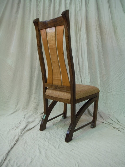 Widely Used Chester Dining Chairs In Chester Dining Chairs In Walnut  Bearkatwood @ Lumberjocks (View 20 of 20)