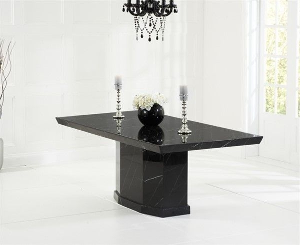 Widely Used Como Dining Tables Within Como Black Constituted Marble Dining Table (View 20 of 20)