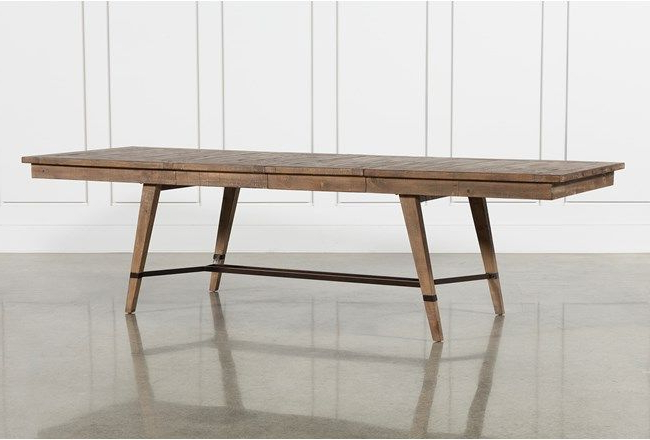 Widely Used Craftsman Rectangle Extension Dining Table In (View 6 of 20)