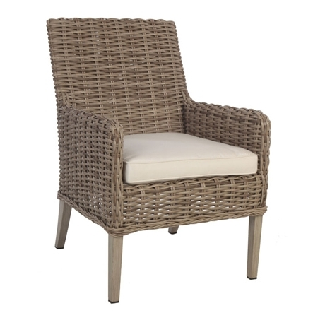 Widely Used Dining Chairs Intended For Laurent Host Arm Chairs (View 2 of 20)