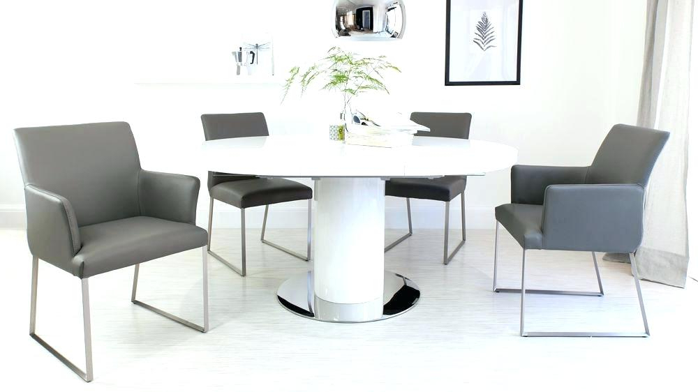 Widely Used Dining Table Pedastal Round White Gloss Extending Dining Table In White Gloss Round Extending Dining Tables (View 20 of 20)