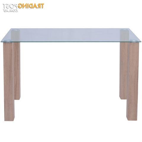 Widely Used Dining Tables 120x60 Inside Dining Table Glass 120 X 60 X 75 Cm For Sale In Armadale Wa (View 6 of 20)