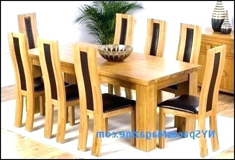 Widely Used Dining Tables 8 Chairs Set Inside Dining Table 8 Chairs Chair Set Room And For – Fondodepantalla (View 19 of 20)