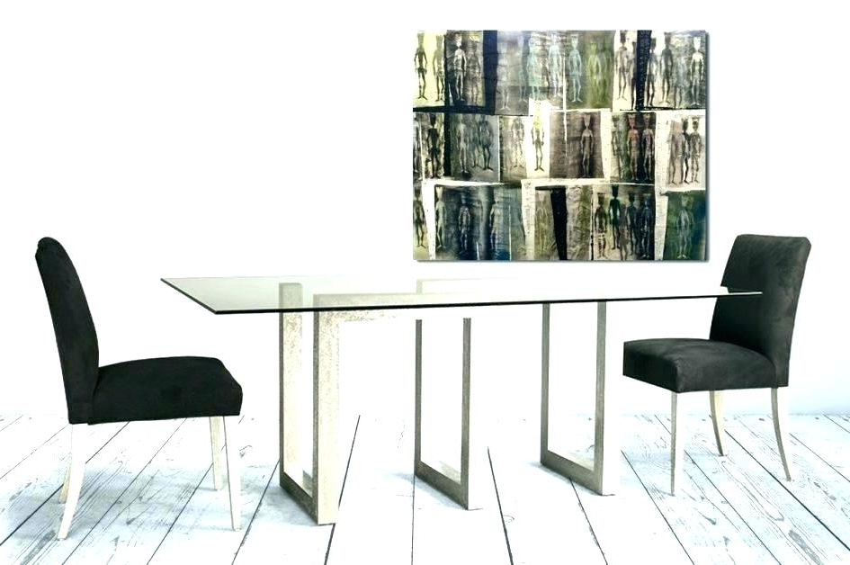 Widely Used Dining Tables And 2 Chairs Within Dining Table And 2 Chairs Breakfast Set Glass Top Dining Table Set (View 14 of 20)