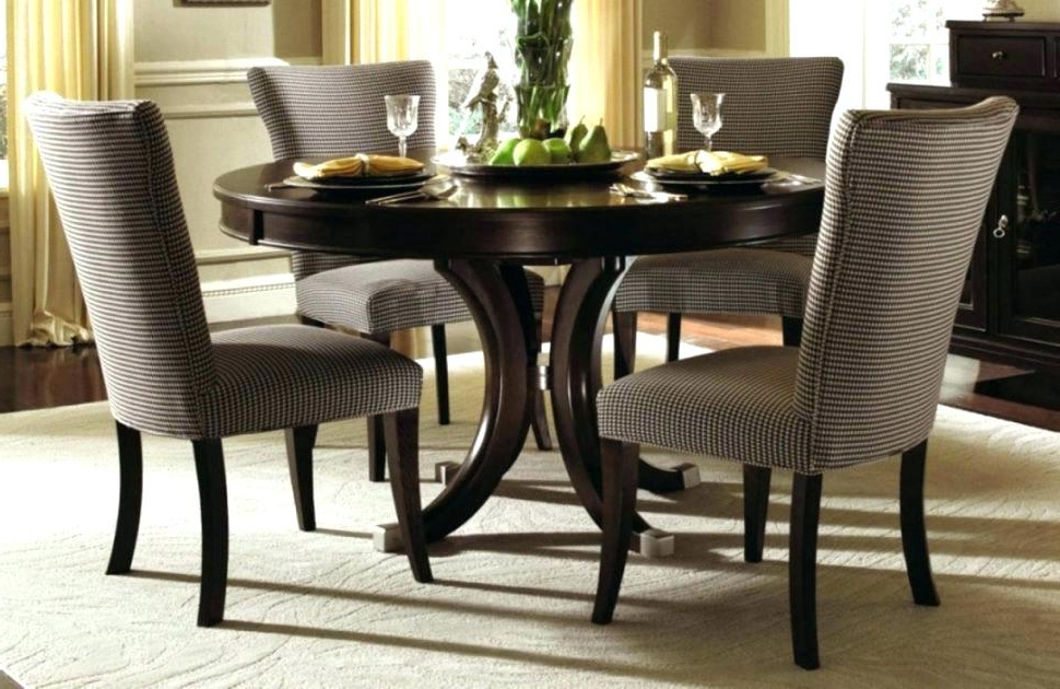 Widely Used Extendable Round Dining Tables Sets With Regard To Large Round Dining Table Set Dining Tables Remarkable Large Round (View 16 of 20)