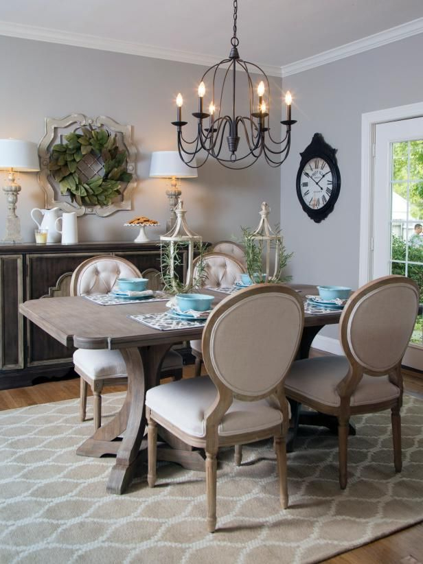 Widely Used French Country Dining Tables Inside Check Out This French Country Style Dining Room From Hgtv's Fixer (View 7 of 20)