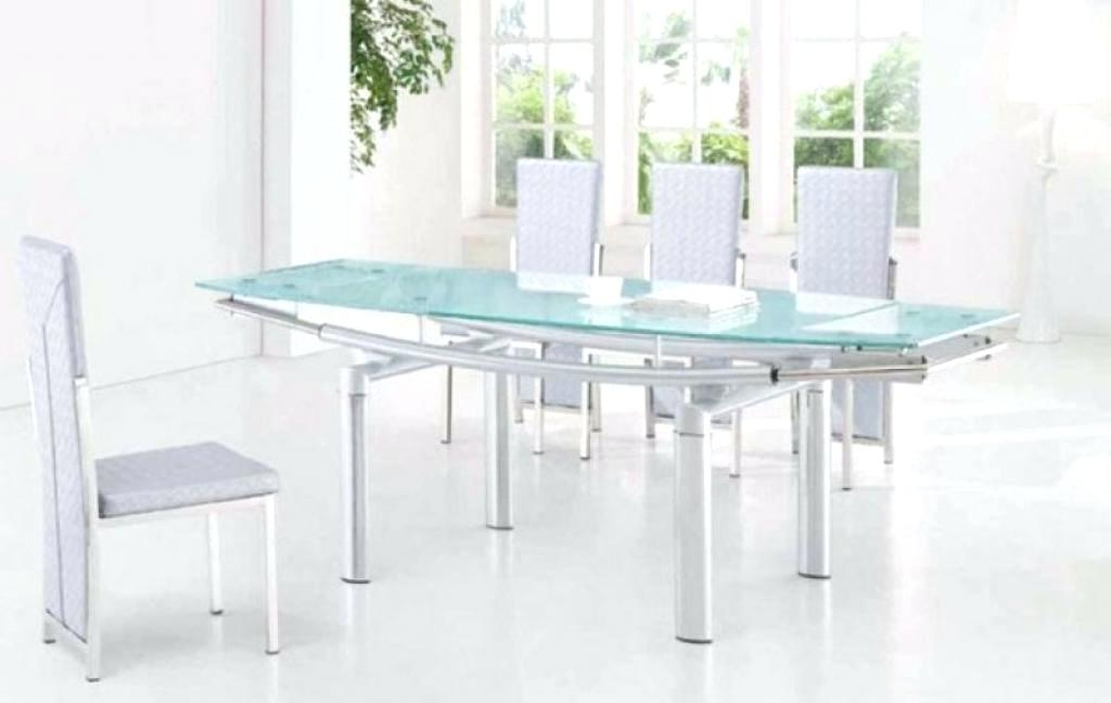 Widely Used Glass Folding Dining Tables Inside Expandable Glass Dining Table Expandable Glass Dining Table Sweet (View 9 of 20)