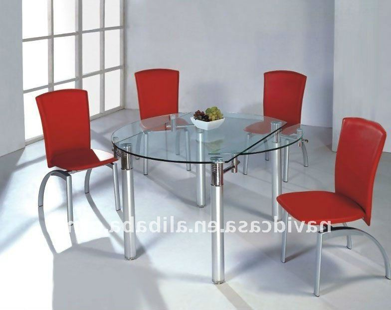 Widely Used Glass Folding Dining Tables With Regard To Cheap Wholesale Modern Glass Folding Kitchen Tables – Buy Folding (View 2 of 20)