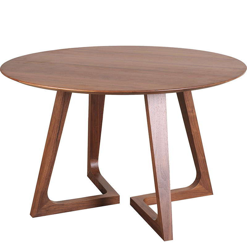 Widely Used Godenza Modern Round Dining Tablemoe's Home Throughout Round Dining Tables (Gallery 16 of 20)