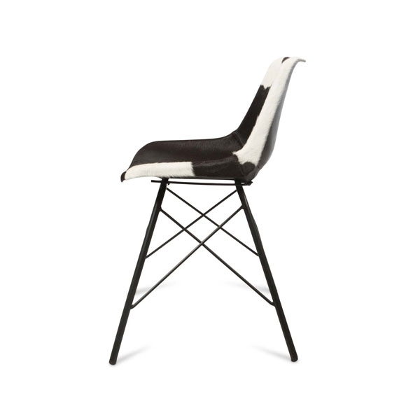 Widely Used Hayden Ii Black Side Chairs Intended For Hayden Cowhide Dining Chair – Port Stephens Fab Furniture (View 6 of 20)