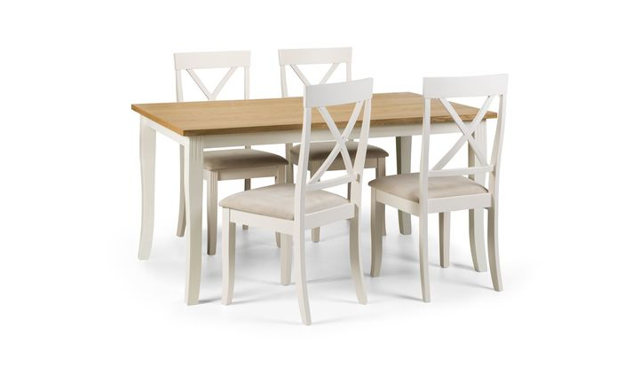 Widely Used Isabella Rectangular Dining Table & 4 Chairs – Scs For Isabella Dining Tables (View 9 of 20)