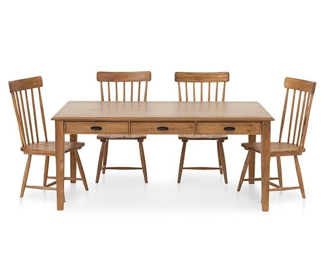 Widely Used Magnolia Home Kempton Bench Side Chairs In Magnolia Home Farmhouse Side Chair – Furniture Row (View 19 of 20)