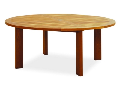 Widely Used Majestic Dining Table – 6' Round – Atlanta Teak Furniture In Helms Round Dining Tables (View 20 of 20)