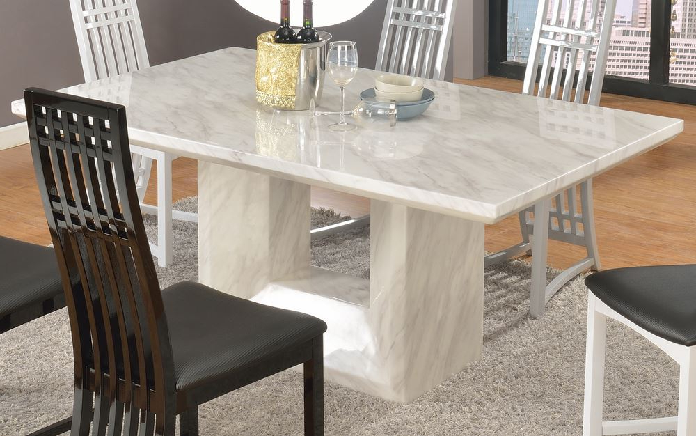 Widely Used Marble Top Dining Table Sets – Marble Top Dining Table Tips Within Marble Dining Tables Sets (View 14 of 20)