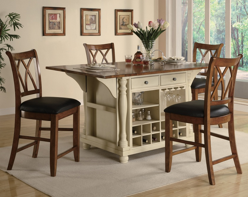 Widely Used Market 7 Piece Counter Sets In Nika 7 Piece Counter Height Dining Set Reviews Joss Main Within Room (View 3 of 20)