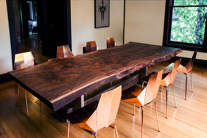 Widely Used Natural Wood Live Edge Table With Edmonton Dining Tables (View 11 of 20)