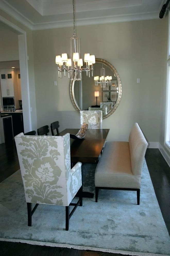 Widely Used Patterned Upholstered Dining Chairs Settee Room Modern With Bench Within Market 6 Piece Dining Sets With Host And Side Chairs (View 9 of 20)