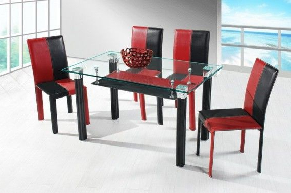 Widely Used Red+and+black+tables (View 9 of 20)