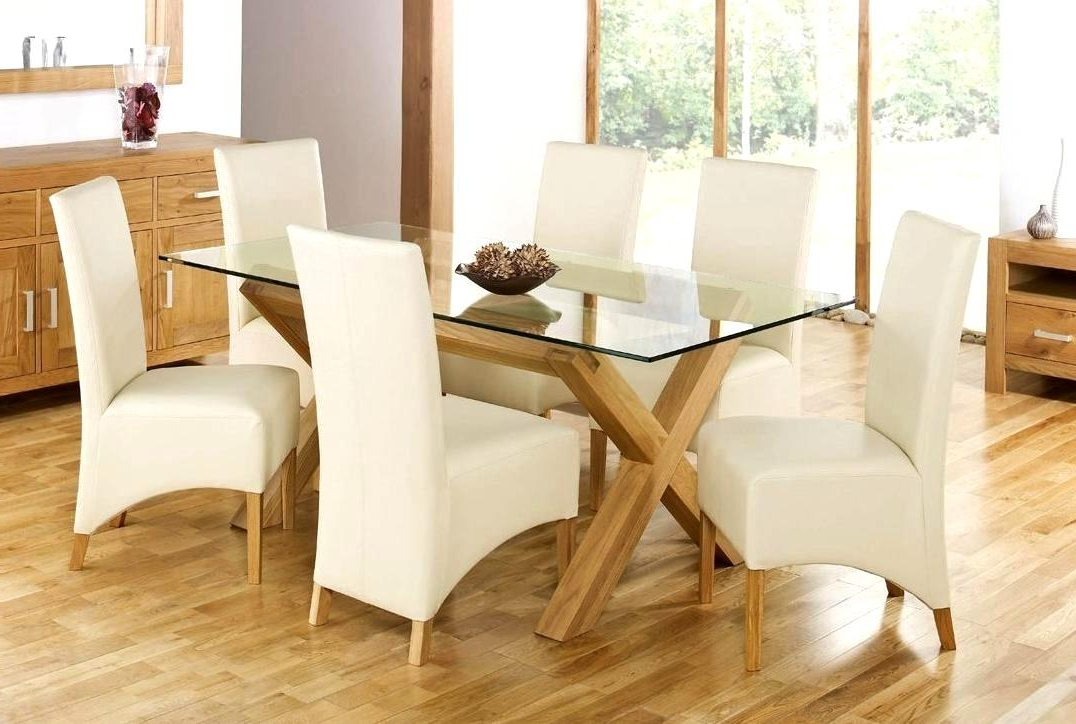 Widely Used Smart Oak Glass Dining Tables Ideas Gorgeous Design For Oak Dinning With Oak Glass Top Dining Tables (View 12 of 20)