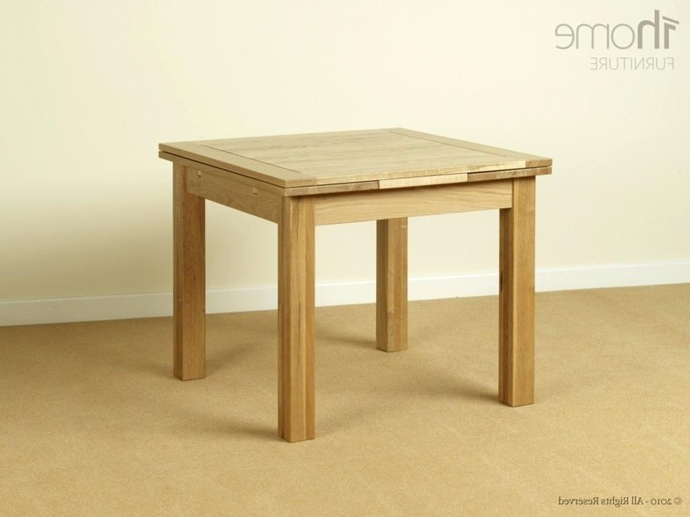 Widely Used Square Extendable Table Square Extendable Table Expandable Round Inside Small Square Extending Dining Tables (View 3 of 20)