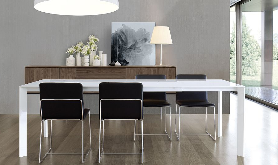 Widely Used Super Sleek Dining Table Brings Minimalism To Your Home Throughout Sleek Dining Tables (View 5 of 20)