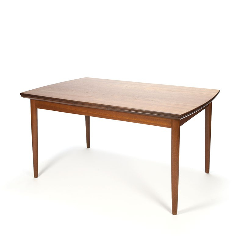 Widely Used Teak Vintage Extendable Danish Dining Table – Retro Studio Throughout Danish Dining Tables (View 20 of 20)