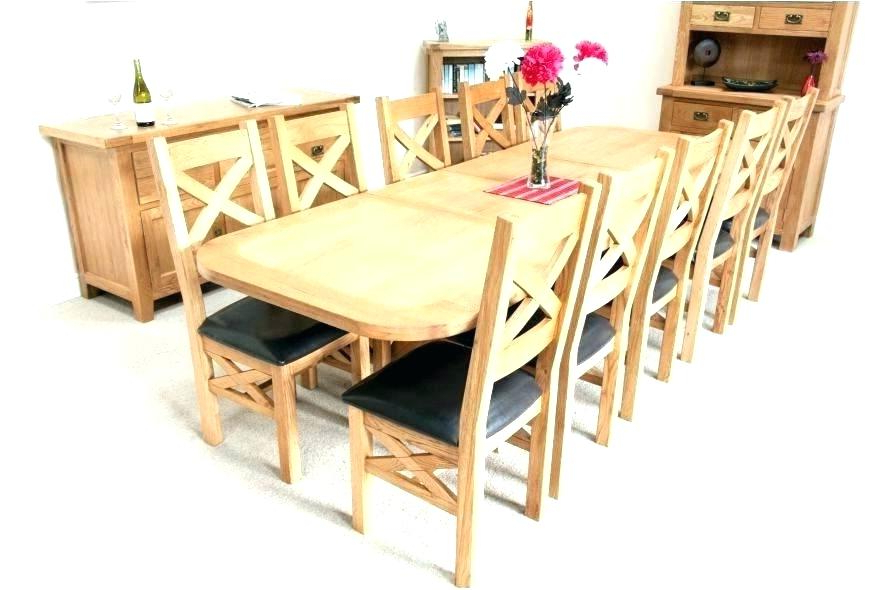 Widely Used Ten Seat Dining Table Chair Dining Table Full Size Of Dining Room With Regard To Dining Table And 10 Chairs (View 14 of 20)