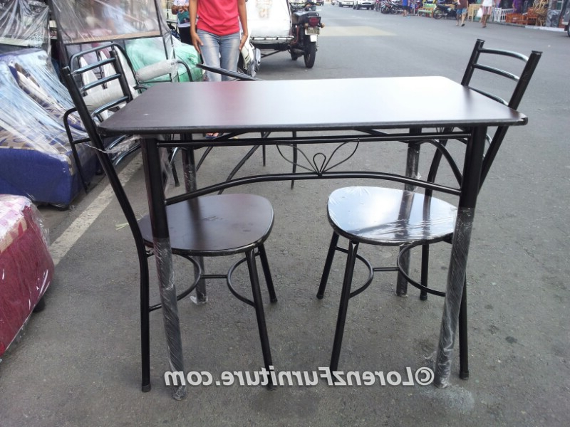 Widely Used Two Seat Dining Tables Throughout 2 Seat Kitchen Table Set – Simple Minimalist Home Ideas • (View 20 of 20)