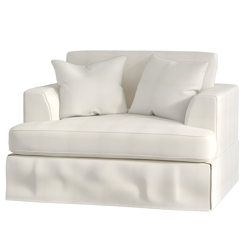 Widely Used Wayfair Custom Upholstery™ Carly Chair And A Half & Reviews (View 17 of 20)