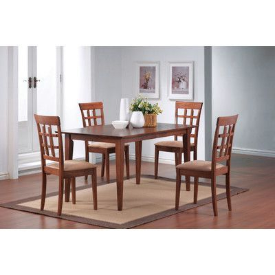 Wildon Home Crawford Dining Table Finish: (View 11 of 20)