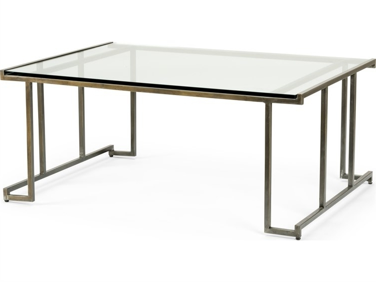 Wildwood Lamps Benson Iron 48'' X 34'' Rectangular Cocktail Table In Newest Benson Rectangle Dining Tables (View 15 of 20)
