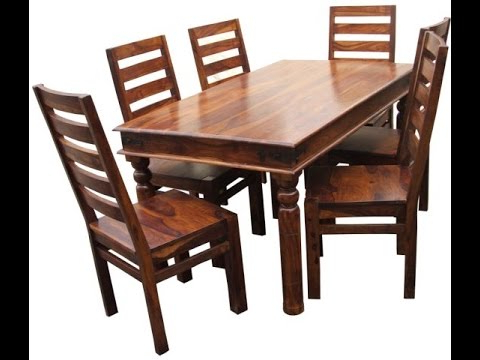 Wood Dining Tables With Widely Used Teak Wood Dining Tables Product Demo @ Fab Home Koramangala (View 8 of 20)