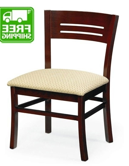 Wood Frame Commercial Chairs With Regard To Chandler Wood Side Chairs (View 4 of 20)