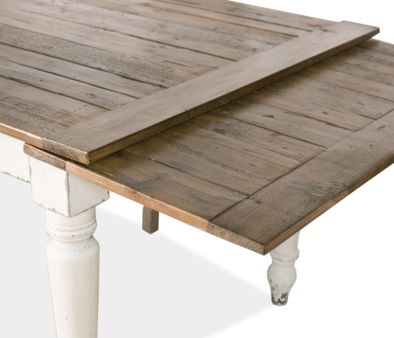 Wood Garner Extension Dining Table World Market Intended For Tables Within 2018 Amos Extension Dining Tables (View 20 of 20)