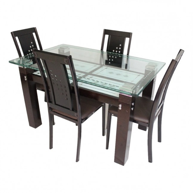 Wooden Dining Sets Regarding 2018 Dining Set Online, Dining Set Furniture Showroom In Ahmedabad (Gallery 19 of 20)