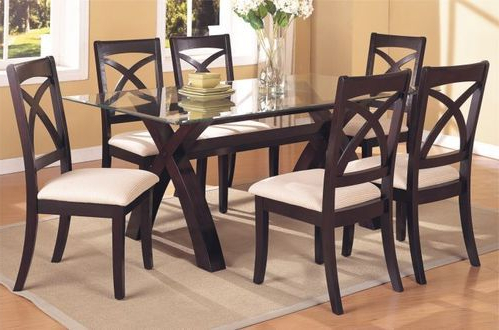 Wooden Glass Dining Tables Inside Most Recently Released Dining Tables – Wooden Dining Sets Service Provider From Mumbai (View 5 of 20)
