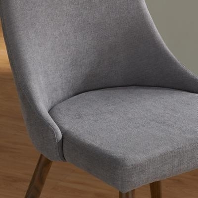 Worldwide Home Furnishings Dining Seating Cora 202 182Gy Side Chair In Well Liked Cora Side Chairs (View 19 of 20)