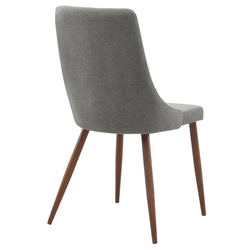 Worldwide Home Furnishings Dining Seating Cora 202 182Gy Side Chair Inside Most Popular Cora Side Chairs (View 20 of 20)