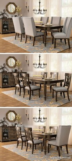 Wyatt 7 Piece Dining Sets With Celler Teal Chairs With Most Recently Released 54 Best Dining Room Ideas Images On Pinterest In (View 20 of 20)