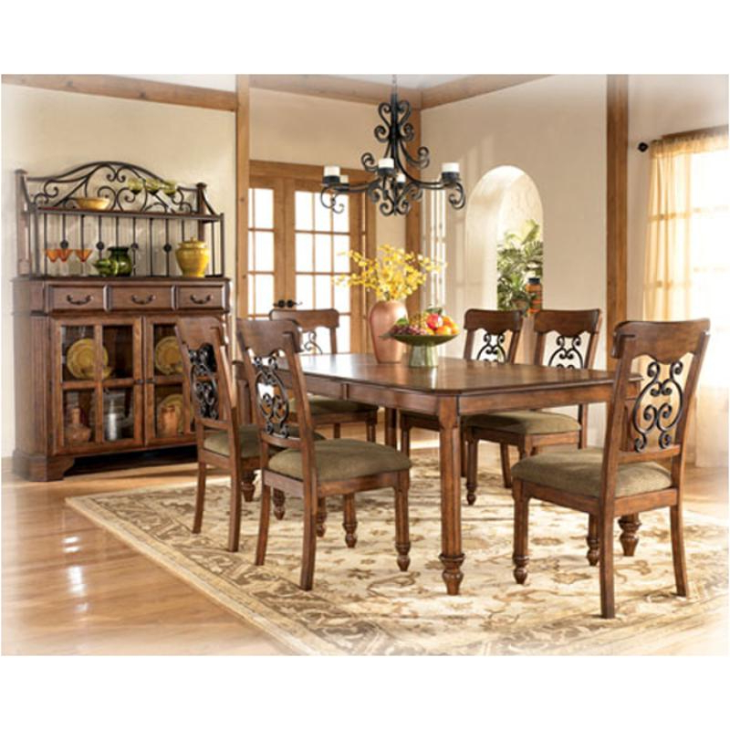 Wyatt Dining Tables Within 2017 D429 35 Ashley Furniture Wyatt Dining Room Rectangular Ext Table (View 20 of 20)
